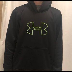 Under Armour big logo hoodie sweatshirt
